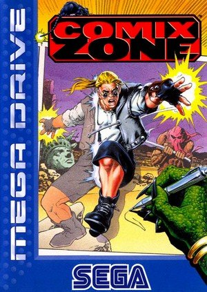 Comix Zone dans Autres jeux vidéo comixzone