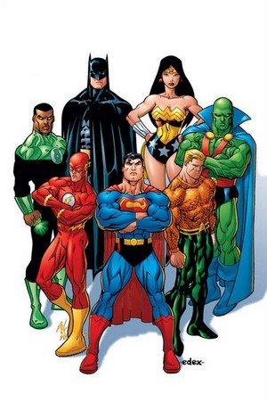 Quelle composition pour la Ligue de Justice ? dans Adaptations et projets avec auteurs à venir justice_league