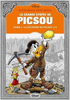 La Grande Épopée de Picsou, tome 1 : La Jeunesse de Picsou [Partie 1] dans Critiques et chroniques littéraires la-jeunesse-de-picsou-1-glenat